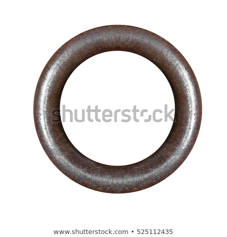 Circles of rusted metal Stock photo © emattil