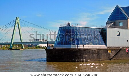Severin Bridge in Cologne, Germany Stock photo © franky242