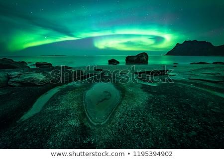 scénique · pêche · village · Norvège - photo stock © harlekino