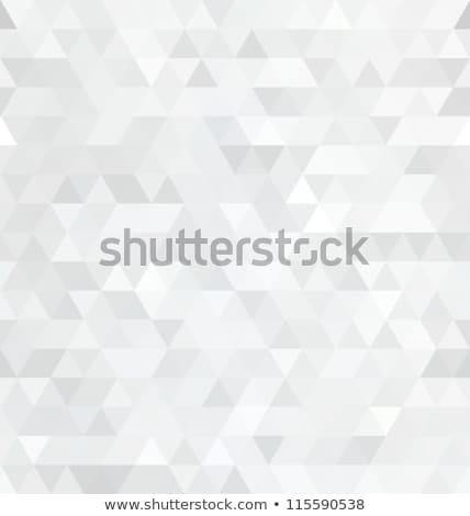 Retro bianco origami gradiente isolato Foto d'archivio © adamson