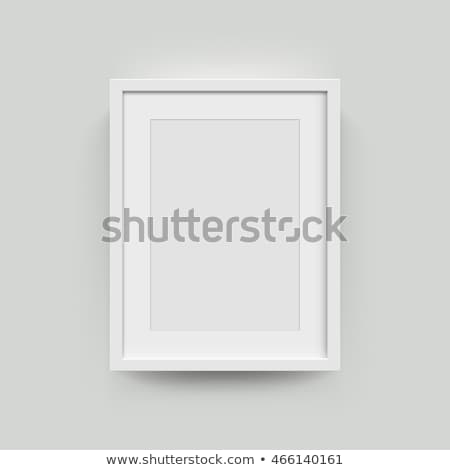 Photoframe isolated on white background Stock photo © alexandkz