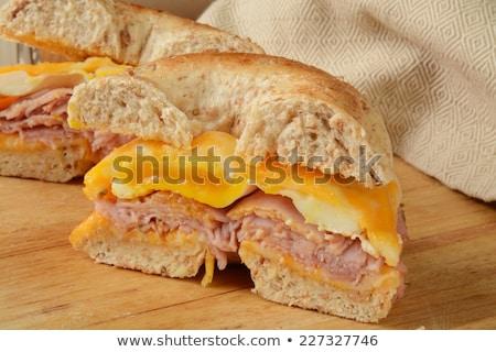 jamón · queso · trigo · color - foto stock © nito