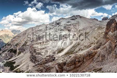 Dağ gökyüzü doğa taş bulut Avrupa Stok fotoğraf © Antonio-S