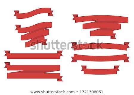 Finale Ermäßigung rot Banner 3D weiß Stock foto © marinini