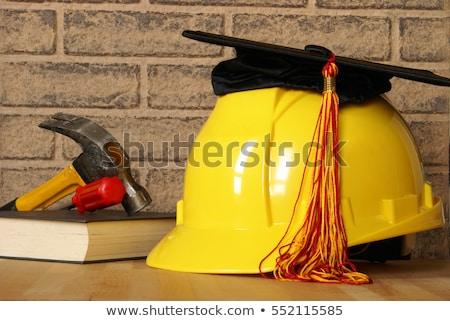 産業 教育 ヘルメット 図書 学生 背景 ストックフォト © Elnur