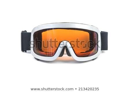 лыжных очки зимние виды спорта белый моде спорт Сток-фото © FOKA