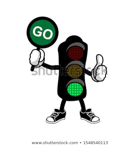 Green Traffic Signal Stock photo © chrisbradshaw