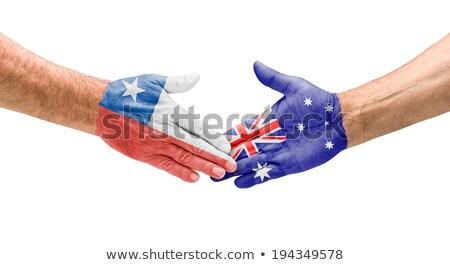 Chili vs Australië groep fase wedstrijd Stockfoto © smocker03