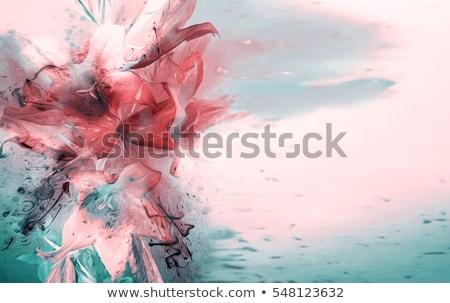 raster. floral background Stock photo © natika