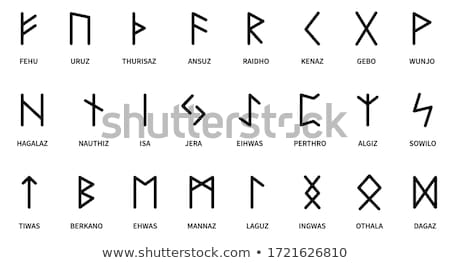 Runes Stock photo © gemenacom