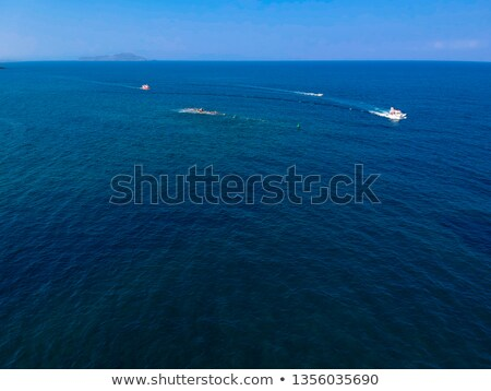 漁網 ポート 水 雲 建物 魚 ストックフォト © elxeneize