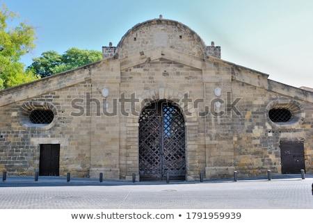 ベニスの 町 市 壁 城 ストックフォト © igabriela