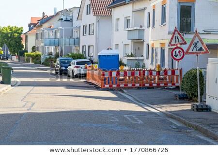 Genel görmek inşa etmek ev inşaat Stok fotoğraf © tang90246