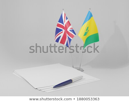 United Kingdom and Saint Vincent and the Grenadines Stock photo © Istanbul2009