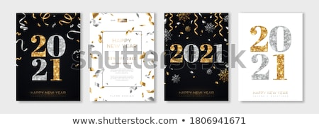 Snowflake Set. Christmas and new year concept stock photo © LittleCuckoo