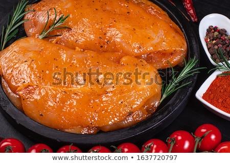 Marinated chicken  Stock photo © Digifoodstock