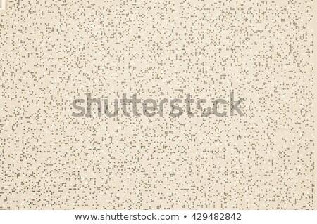 Square pixel mosaic background with light brownish tones Stock photo © szabiphotography
