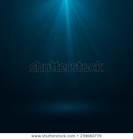 Rays of light flowing down. EPS 10 stock photo © beholdereye