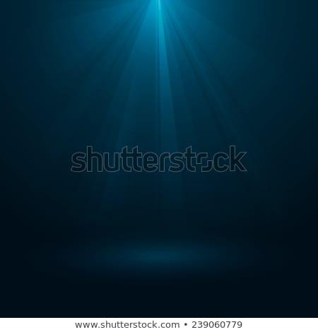 Rays of light flowing down. EPS 10 Stock photo © beholdereye
