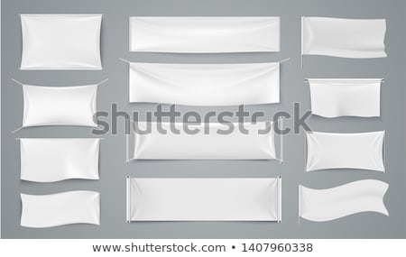Blank banners mock up set. Stock photo © pakete