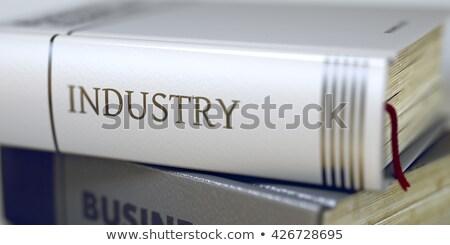 Minería libro título 3d espina Foto stock © tashatuvango