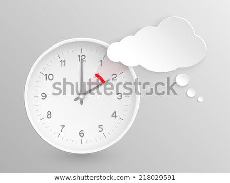 Change On Watch Face 3d Illustration Stockfoto © wenani