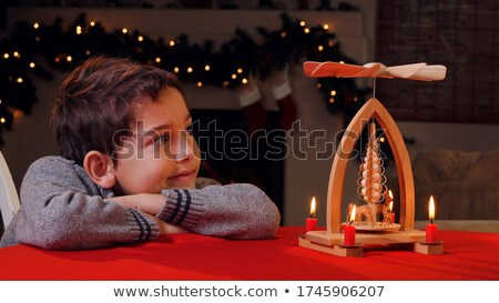 turned pyramid Stock photo © sommersby