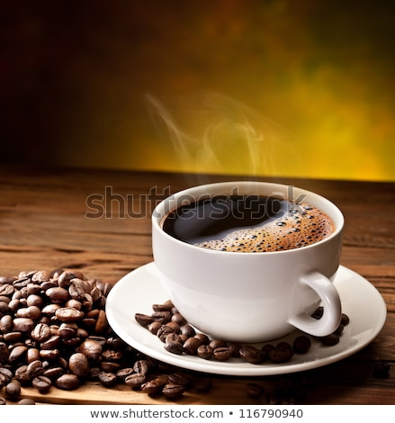 Cup of coffee on table in cafeteria Stock photo © wavebreak_media