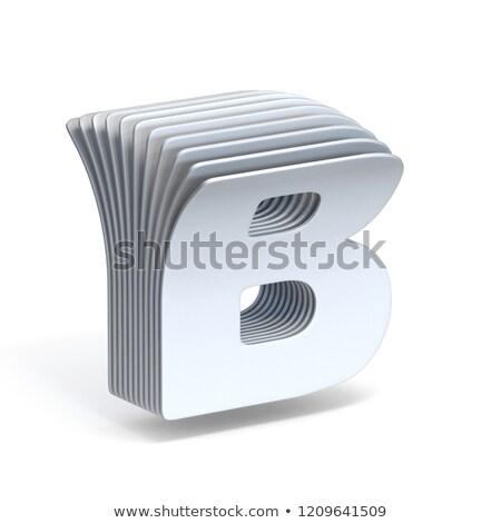 Papír levél 3D 3d render illusztráció izolált Stock fotó © djmilic