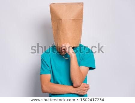 Young boy ashamed image Stock photo © bluering