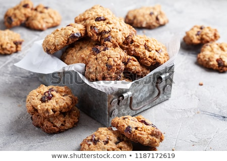 Christmas cookies with raisins Stock photo © BarbaraNeveu