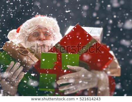 サンタクロース · ギフト · 漫画 · 実例 · サンタクロース · 幸せ - ストックフォト © fresh_7266481