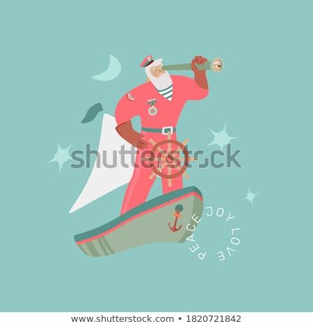 Cartoon Sailor Idea Stock photo © cthoman