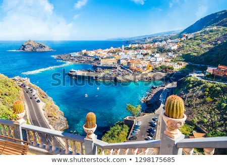 Garachico, Tenerife island, Spain Stock photo © MichaelVorobiev