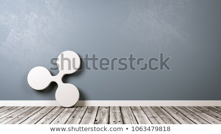 Ripple Cryptocurrency Symbol in the Room Stock photo © make
