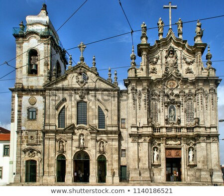 Carmo and Carmelitas churches in Porto, Portugal Stock photo © nito