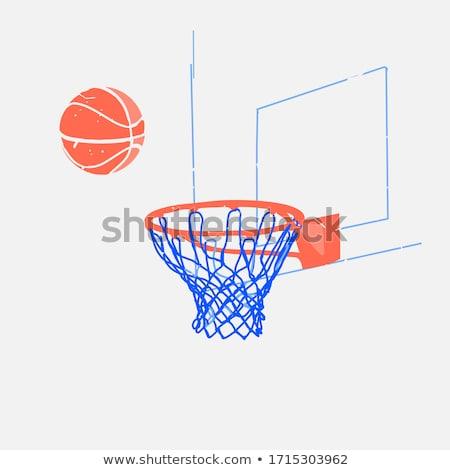 Basketball Vector Elements Stock photo © netkov1