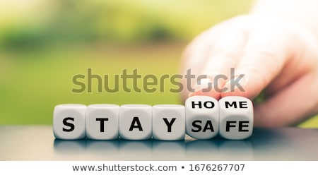Stay home! Stock photo © Zsuskaa