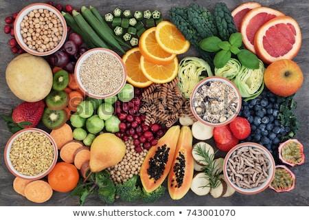 Groß Faser Gesundheit Essen Sammlung Super Stock foto © marilyna