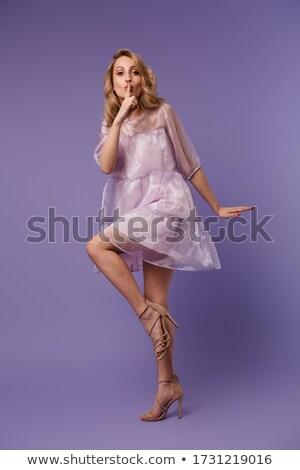 写真 いい 若い女性 沈黙 ストックフォト © deandrobot