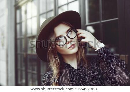 trendy eye-wear Stock photo © get4net