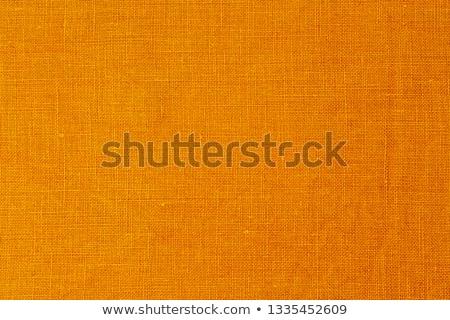 Laranja colorido tecido armazenar Foto stock © borna_mir