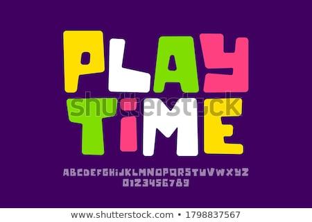 Playtime Stock photo © brebca