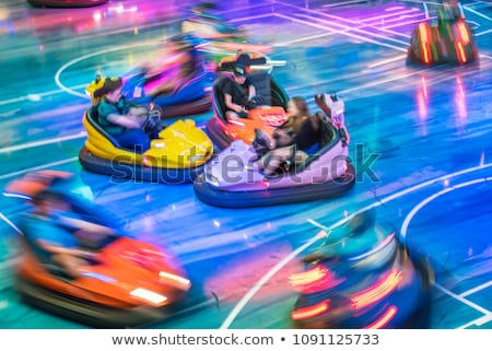 Bumper Cars Stock photo © piedmontphoto
