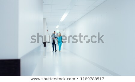 врач медсестры прихожей клинике медицинской больницу Сток-фото © photography33