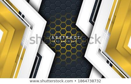 friday in 3d coloured hexagons Stock photo © marinini