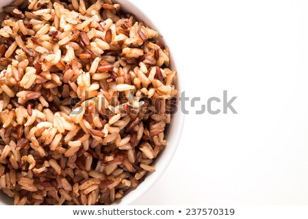 Wild Brown Rice Stock photo © zhekos