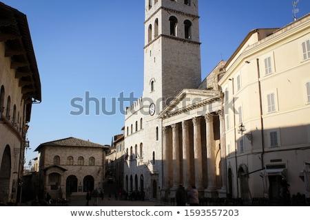 Assisi - the temple of Minerva Stock photo © wjarek