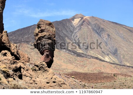Tenerife İspanya vadi volkan yeşil mavi Stok fotoğraf © neirfy