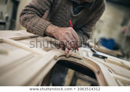 Close-up shot of a chisel Stock photo © photography33